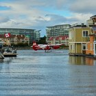 Seaplane on Victoria Harbour